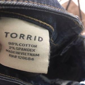 torrid Jeans - Torrid Size 18 Denim Bootcut Jeans